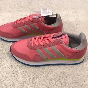 New with box Adidas haven sneakers pink US 7.5